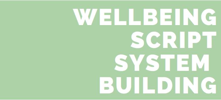 Wellbeing Scripts: The Beginning